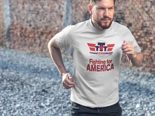 Official Three Term Trump™ Tee Shirt #T-12W-M