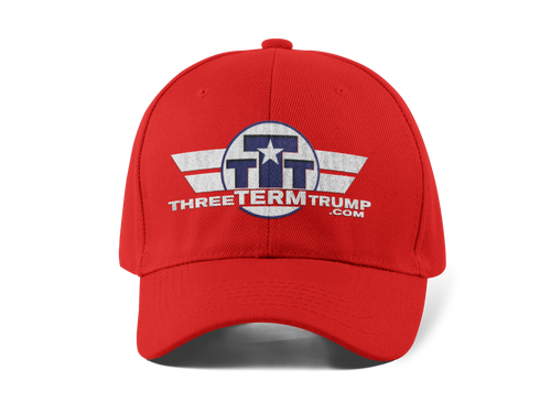 Official Three Term Trump™  Baseball Cap #HAT-1R