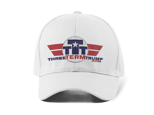 Official Three Term Trump™ Baseball Cap #HAT-1W