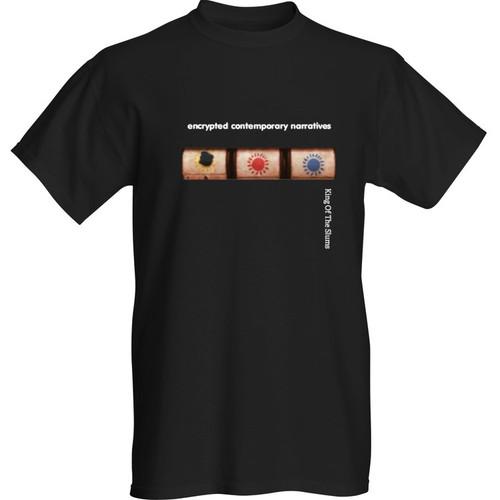 Encrypted Contemporary Narratives (Design 1)