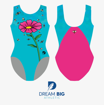 Gymnastics Plus Aqua Bee UNITY Tank