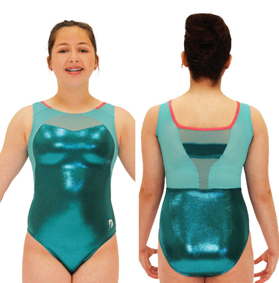 Confidence Tank in Teal