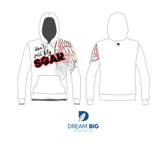 Dont Just Fly, Soar Epic Hoodie