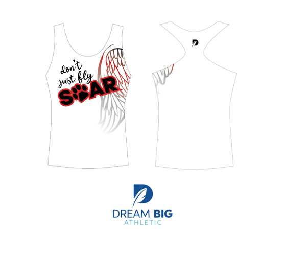Dont Just Fly, Soar Epic Tank Top