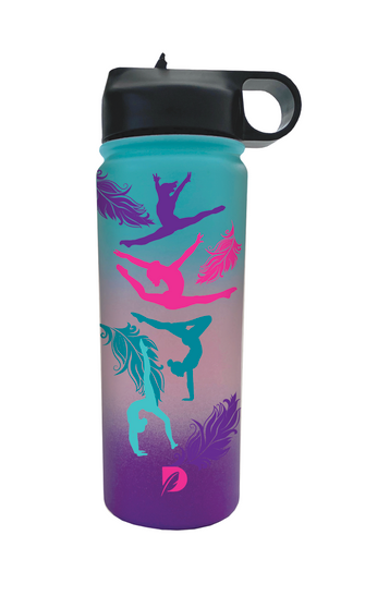 Feather Water Tumbler