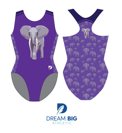 Gymnastics Plus Elephant Racerback UNITY Tank