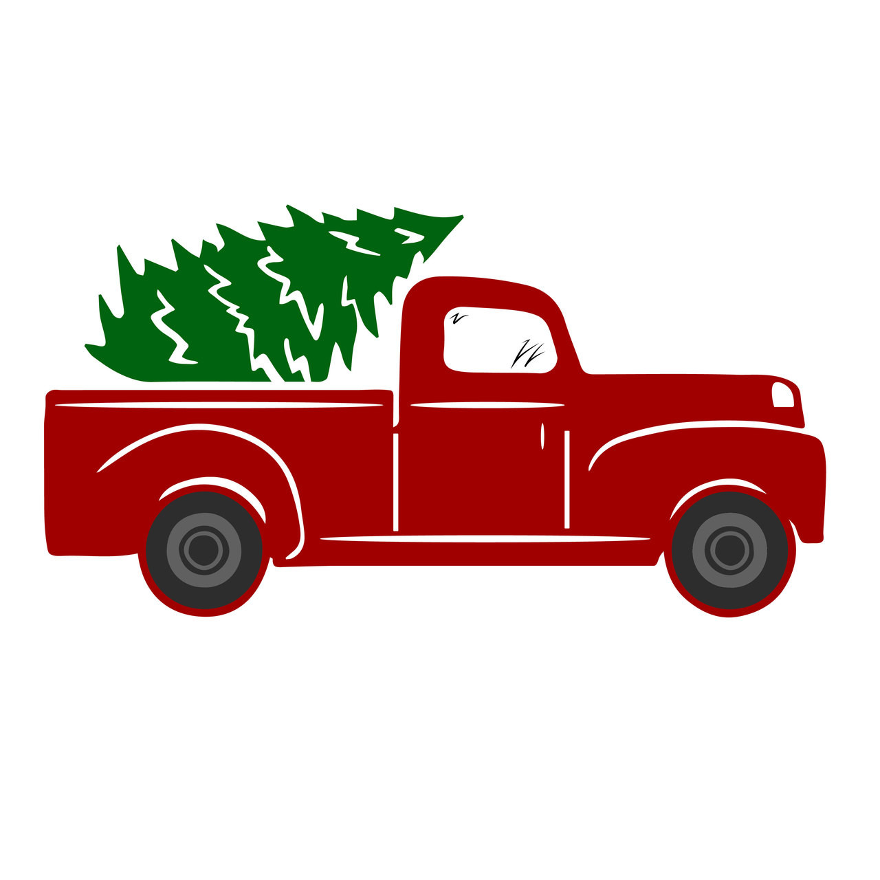 Free Tree Truck Svg Cut File Craftables
