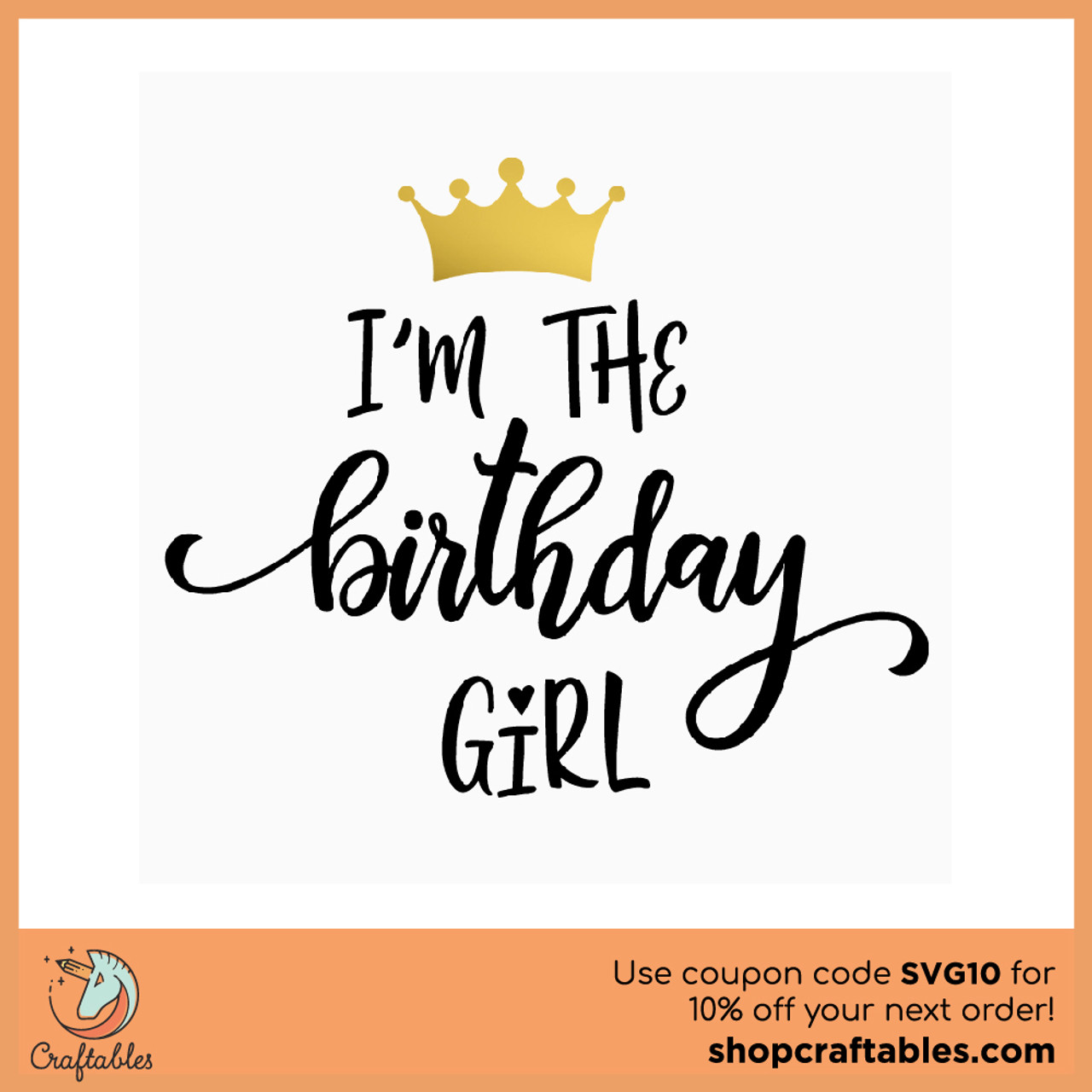 Download Free Birthday Girl SVG Cut File | Craftables