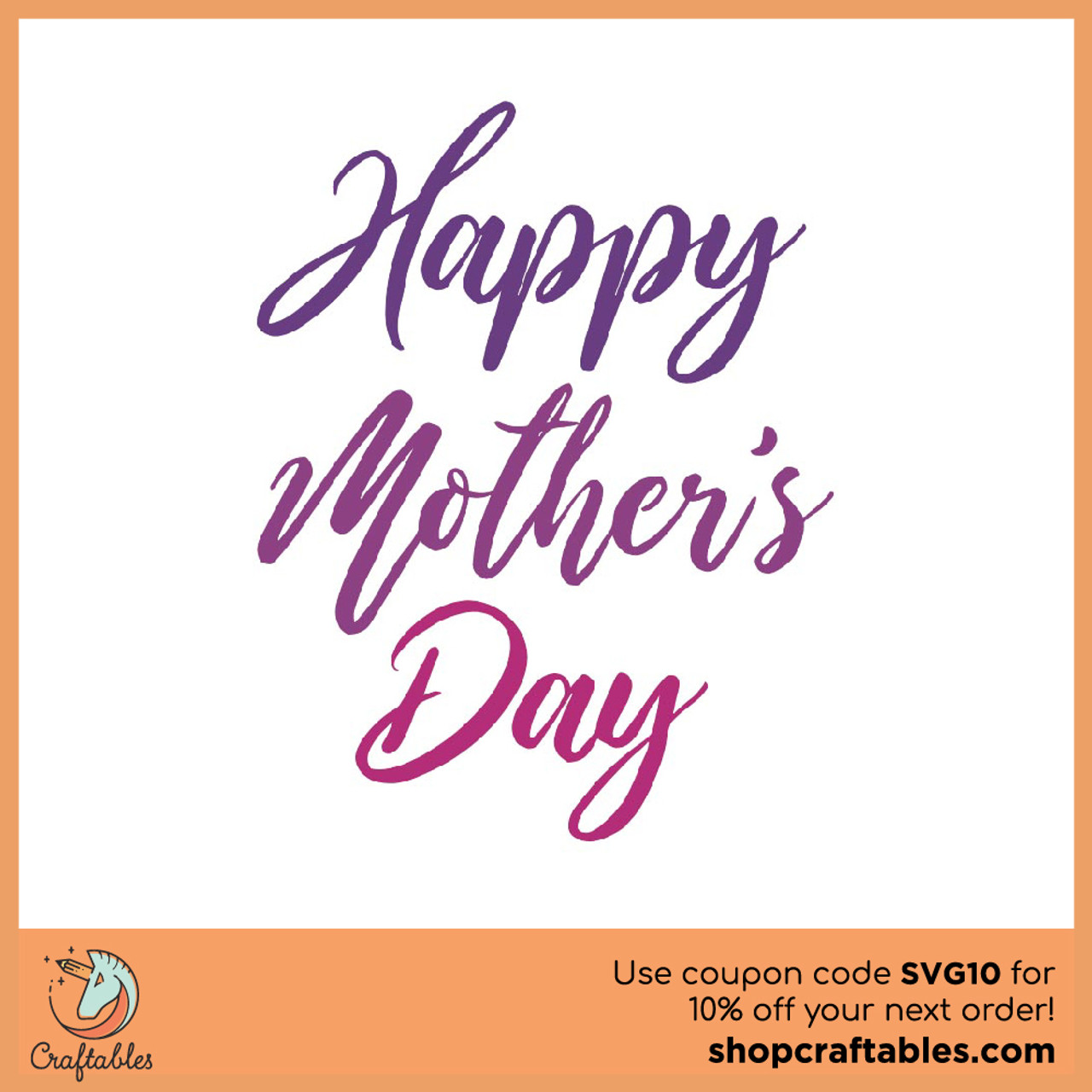 Free Free svg files to use with your silhouette or cricut cutting machine. Free Happy Mother S Day Svg Cut File Craftables SVG, PNG, EPS, DXF File