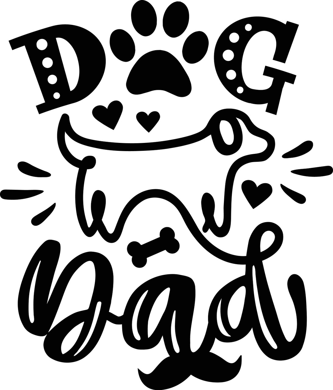 Free Packed with 11 svg cut files, you will be able to create. Free Dog Dad Svg Cut File Craftables SVG, PNG, EPS, DXF File
