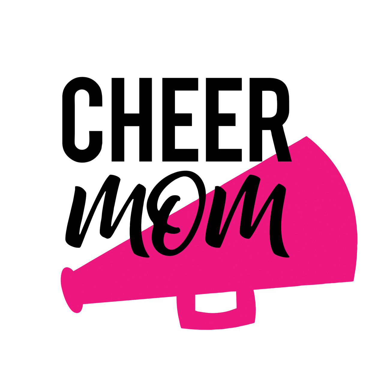 Free Cheer Mom Svg Cut File Craftables