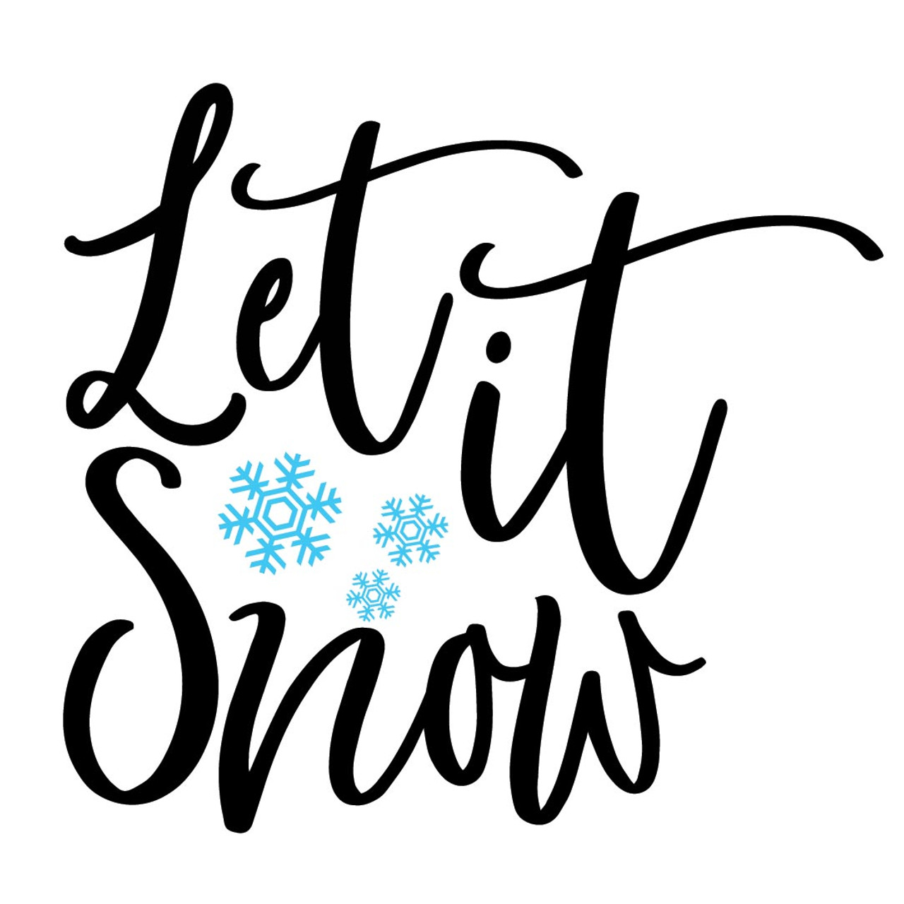 Free Let It Snow Svg Cut File Craftables