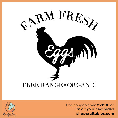 Free farm fresh eggs svg cut files for Cricut, Silhouette, Illustrator, inkscape,t shirts