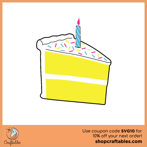 Free Birthday Cake  SVG Cut File for Cricut, Silhouette, Illustrator, inkscape, t shirts