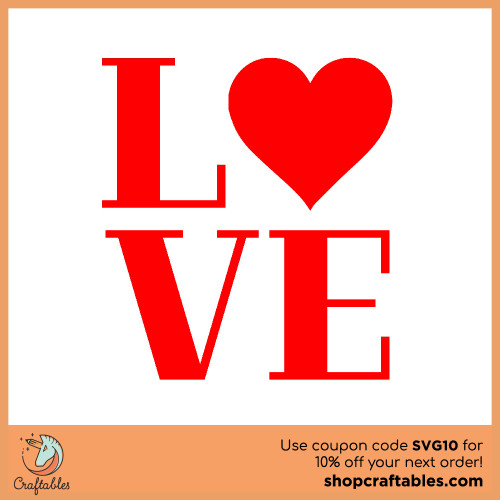Free Love  SVG Cut File for Cricut, Silhouette, Illustrator, inkscape, t shirts