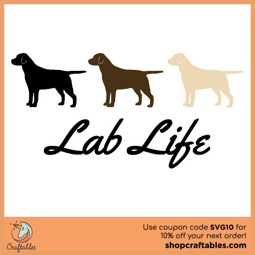 Free Lab Life SVG Cut File for Cricut, Silhouette, Illustrator, inkscape, t shirts