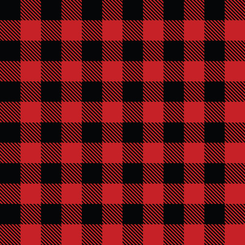 Craftables Printed Adhesive Buffalo Plaid Print