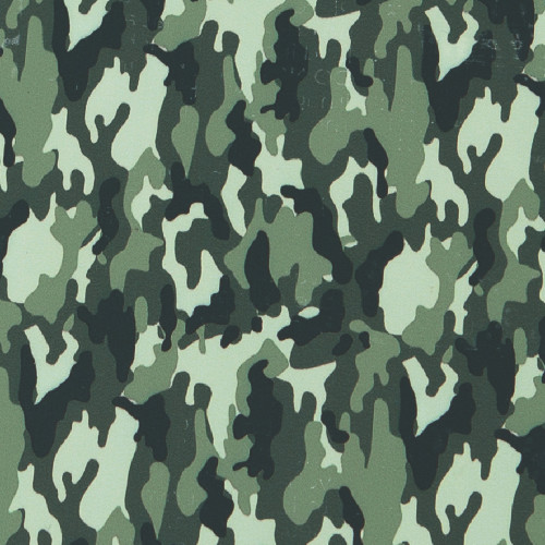 Craftables Pattern Heat Transfer Vinyl Camo Print