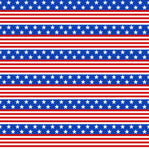 Craftables Pattern Heat Transfer Vinyl American Flag Print