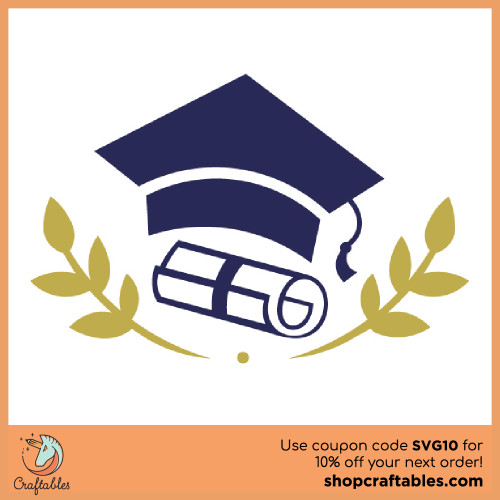 Free Graduation SVG Cut File for Cricut, Silhouette, Illustrator, inkscape, t shirts