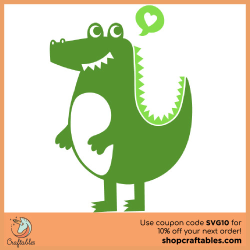 Free Alligator SVG Cut File for Cricut, Silhouette, Illustrator, inkscape, t shirts