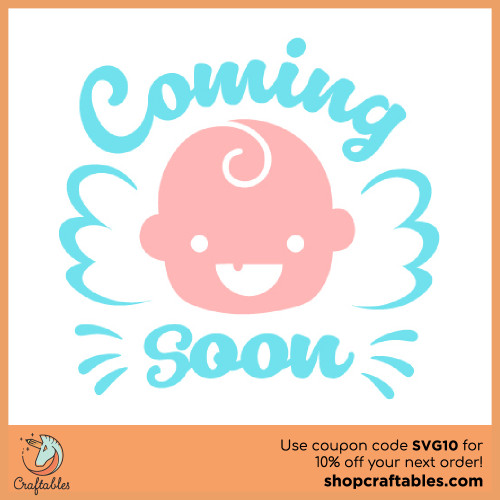 Free Coming Soon SVG Cut File for Cricut, Silhouette, Illustrator, inkscape, t shirts