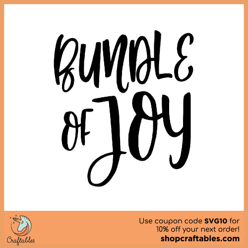 Free Bundle of Joy SVG Cut File for Cricut, Silhouette, Illustrator, inkscape, t shirts