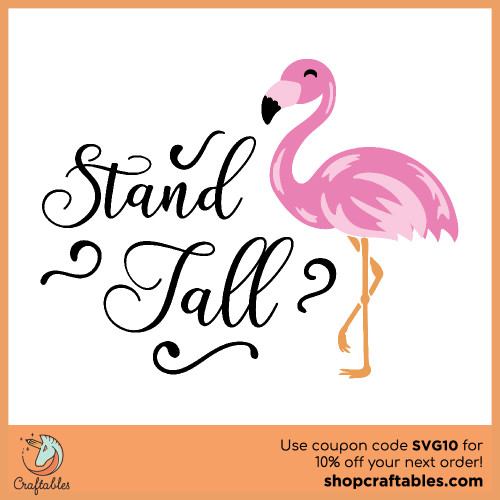 Free Stand Tall SVG Cut File for Cricut, Silhouette, Illustrator, inkscape, t shirts