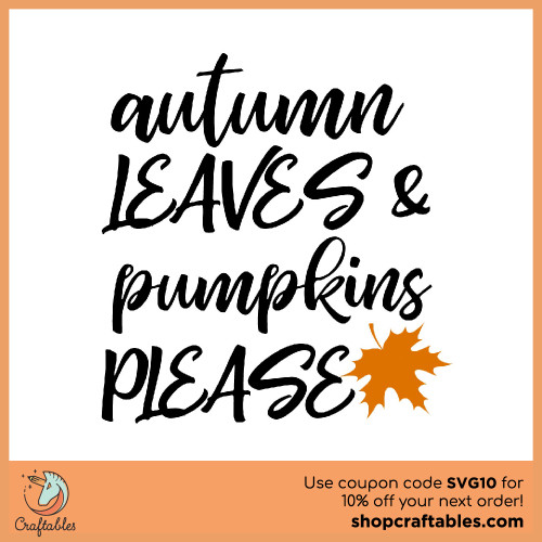 Free Autum Leaves SVG Cut File for Cricut, Silhouette, Illustrator, inkscape, t shirts