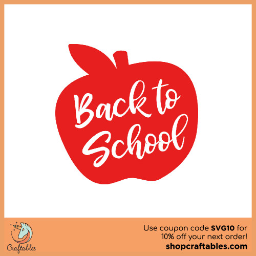 Free Back to School SVG Cut File for Cricut, Silhouette, Illustrator, inkscape, t shirts