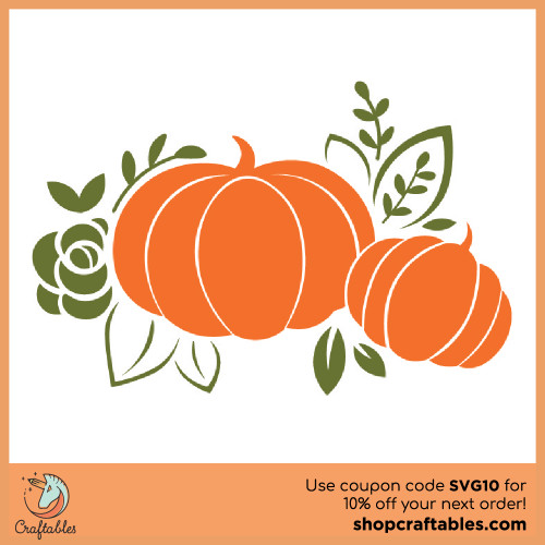 Free Pumpkins SVG Cut File for Cricut, Silhouette, Illustrator, inkscape, t shirts