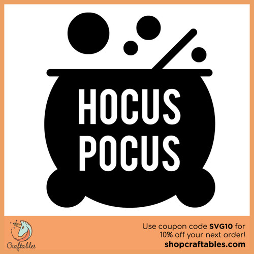 Free Hocus Pocus SVG Cut File