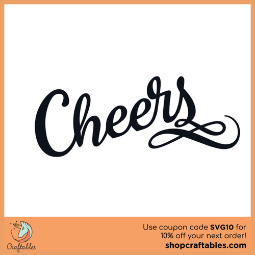 Free Cheers SVG Cut File