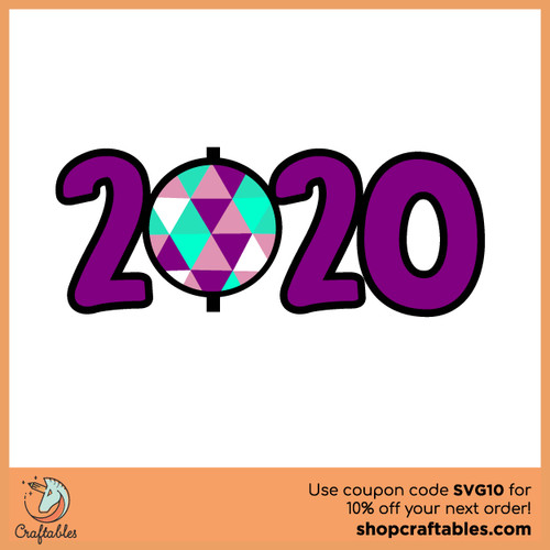 Free 2020 SVG Cut File
