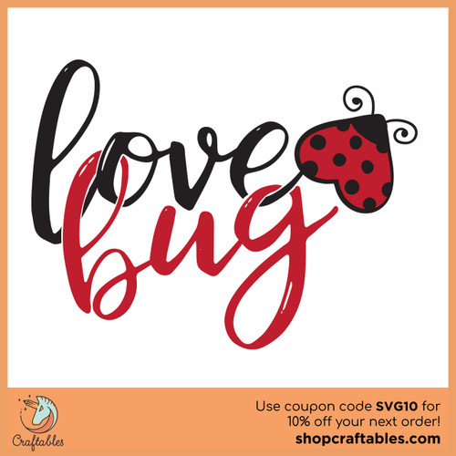 Free Love Bug SVG Cut File