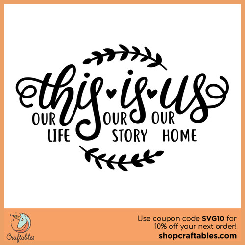 Free This Is Us SVG Cut File