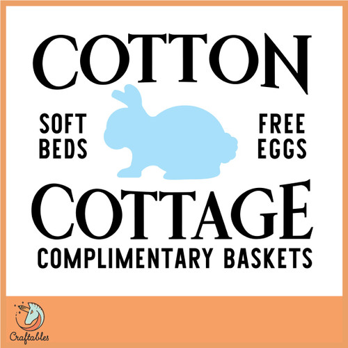 Free Cotton Cottage SVG Cut File