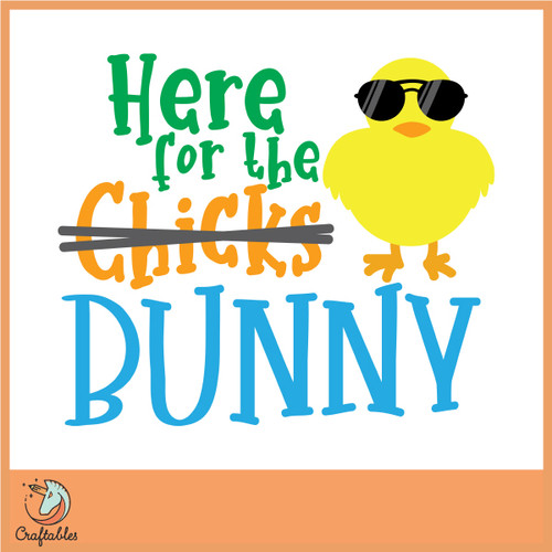 Free Here for the Bunny SVG Cut File