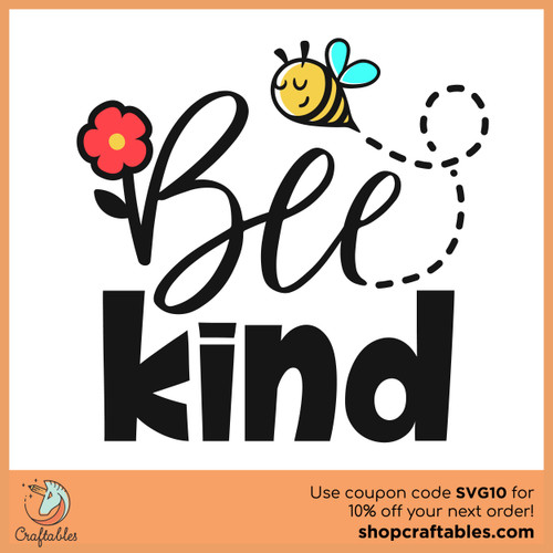 Free Bee Kind Cut File