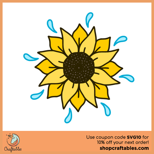 Free Flower SVG Cut File