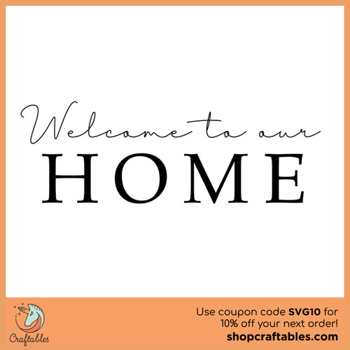 Free Our Home SVG Cut File