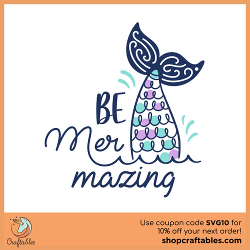 Free  Be Mer-mazing SVG Cut File