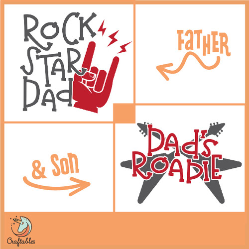 Free Rock Star Roadie SVG Cut File