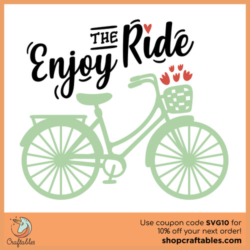 Free Enjoy the Ride Cut File