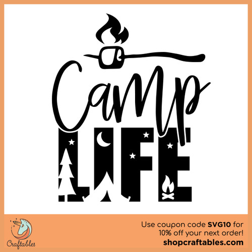 Free Camp Life SVG Cut File