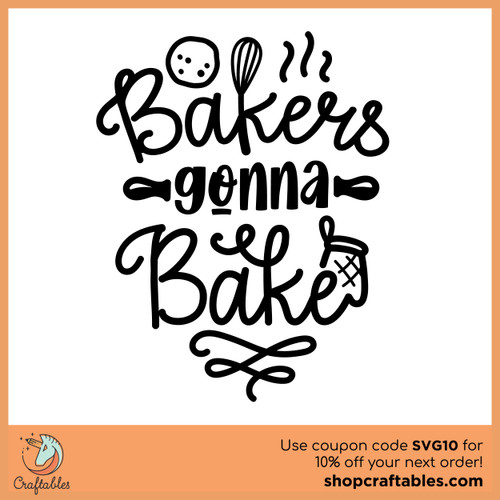 Free Bakers Gonna Bake SVG Cut File