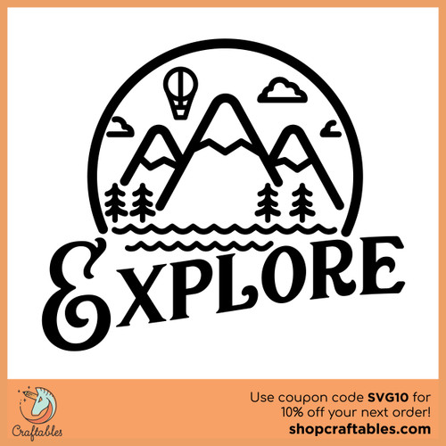 Free Explore SVG Cut File
