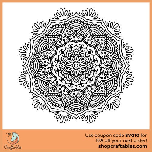 Free New Mandala SVG Cut File