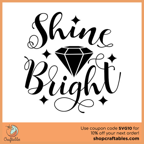 Free Shine Bright SVG Cut File