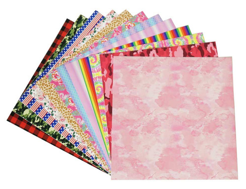 Craftables Patterned Adhesive Vinyl Complete Starter Pack